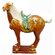 "Oriental Furniture 12"" Medium Tang Horse Statue"