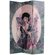 Oriental Furniture Double Sided Shanghai Ladies Canvas Room Divider