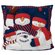 "SC Sports NFL 18"" Snowman Family Pillow"