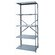 Hallowell Hi-Tech Shelving  Heavy-Duty Open Type Starter and Optional Add-on Unit with 5 Shelves