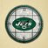 "The Memory Company NFL 12"" Art Glass Clock"