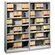 HON 600 Series 6 Shelf Bookcase in Gray