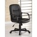 High-Back Leather Office Chair
