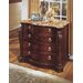 Balmoor Two-Drawer Lateral File with Marble Top