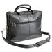 Vaquetta Nappa Briefcase in Black