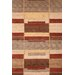 Tango Tan/Red Bubblerary Rug