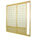 Single Sided Sliding Door  Shoji Room Divider in Natural