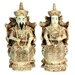 "5"" Emperor and Empress Statue in Ivory"