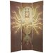 6 Feet Tall Thousand Arm Kwan Yin Bamboo Room Divider