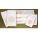 7 Piece Shou Long Life Bath Set in White