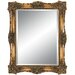 Antique Beauty Wall Mirror in Antique Gold