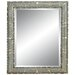 Modern Magic Wall Mirror in Sterling Silver