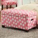 Deluxe Upholstered Storage Bedroom Bench