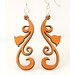Tulip Scrolls Earrings
