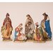 5 Piece Flat Nativity Set