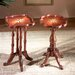Plantation Cherry Square Scatter  End Table