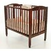 2 in 1 Folding Birch Portable Crib