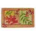 Leaf Collage Coir Mat