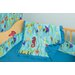 Tropical Seas 4 Piece Crib Bedding Set