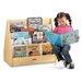 "28"" H Multi Pick-a-Book Stand with Casters - 2 Sided"