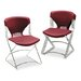 Olson Flex Stacker Chair, Garnet, Four/Carton