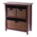 Milan Storage Shelf with 3 Baskets