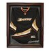 NHL Cabinet Style Jersey Display in Mahogany