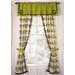 Shadows Velvet Rod Pocket Curtain Panel Pair