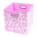 Rose Giraffe Folding Storage Bin