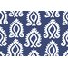 Blockprint Indienne-Bleu Placemat