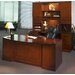 Sorrento Double Pedestal Desk with Bow Front