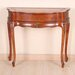 Carved Wood One Drawer Console Table
