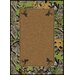Mossy Oak Obsession Solid Center with Deer Head Novelty Rug