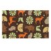 Menagerie Brown Kids Rug