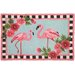 Flirty Flamingos Rug