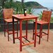 Dartmoor 3 Piece Bar Height Dining Set