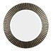 North Beach Round Wall Mirror in Bronze