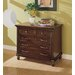 Keystone Lateral File Cabinet in Tawny Brown