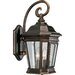 Crawford Outdoor Wall Lantern in Oil Rubbed Bronze