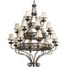 Sanabria 20 Light Chandelier