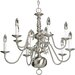 Americana 10 Light Chandelier