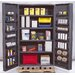 48&quot; Wide Welded Storage Cabinet with Deep Doors