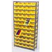 "Economy Shelf Storage Units (75"" H x 36"" W x 18"" D) with Bins"