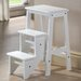 "24"" Step Stool in White"