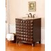 "Florence Single 30.5"" Bathroom Vanity in Antique Cherry"