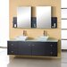 Clarissa 72&quot; Double Sink Bathroom Vanity Set