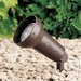 Textured Architectural Bronze Landscape Spot Light