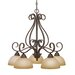 Riverton 5 Light Nook Chandelier