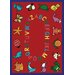 Educational ABC Animals Kids Rug