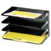 Steelmaster Steelmaster Multi-Tier Horizontal Legal Organizers, Four Tier